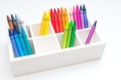 crayons Royaltyfri Bild