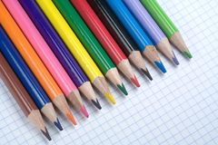 Crayons Photos libres de droits
