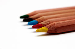 Crayons Stock Photos