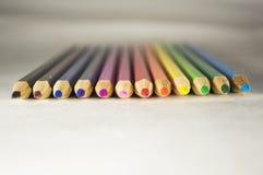 Crayons 4 Photos stock
