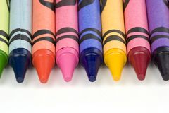 Crayons Royalty Free Stock Image