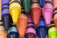 Crayons. Pencils Royalty Free Stock Photography