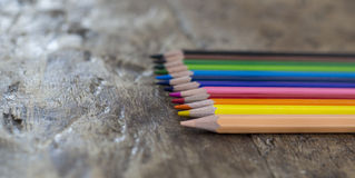 crayons Стоковое Изображение