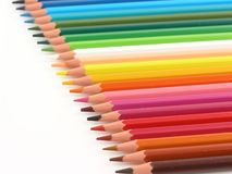 Crayons. Color crayons Stock Photos