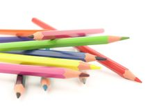 Crayons. Color crayons Royalty Free Stock Photo