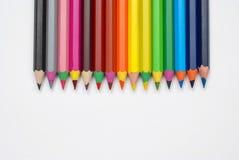 Crayons bacground Стоковое фото RF