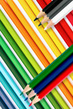 Crayons background Royalty Free Stock Photography