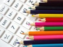 Crayons bring color Stock Photos