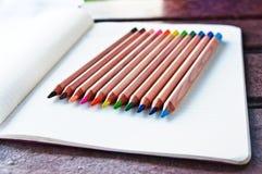 Crayons colorés 1 photo libre de droits