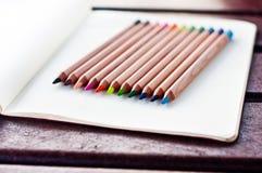 Crayons colorés 3 Photographie stock