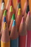Crayons colorés. photographie stock