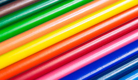 Crayons colorés Photo stock