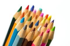 Crayons colorés photographie stock libre de droits