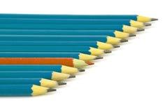 Crayons colorés Image libre de droits