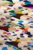 Crayons colorés Photographie stock