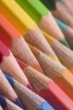 Crayons colorés colorés Image stock