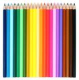 Crayons colorés multi Photo stock
