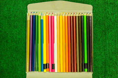 Crayons. Royalty Free Stock Photos