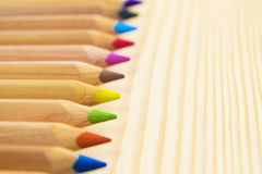 Crayons. Colored Pencils. Colored pencils as background. Crayons. Colored Pencils. Colored pencils as background Stock Photography