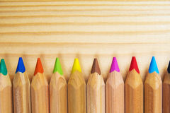 Crayons. Colored Pencils. Colored pencils as background. Crayons. Colored Pencils. Colored pencils as background Royalty Free Stock Photos