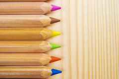 Crayons. Colored Pencils. Colored pencils as background. Crayons. Colored Pencils. Colored pencils as background Stock Images