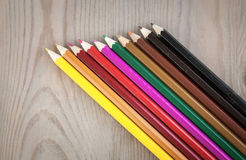 Crayons colors Royalty Free Stock Photos
