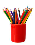 Crayons Coloured Pencils Royalty Free Stock Images