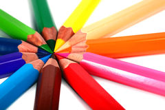 Crayons Coloured Pencils Royalty Free Stock Image