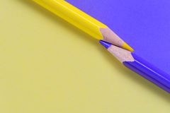 Crayons concept Royalty Free Stock Image