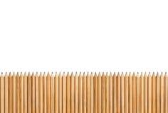 Crayons d'isolement sur le fond blanc Photographie stock