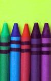 Crayons de cire Image libre de droits