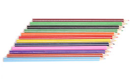 Crayons de coloration Photographie stock libre de droits