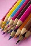 Crayons de coloration Photo stock