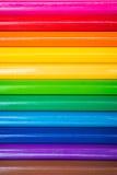 Crayons de coloration Photos libres de droits
