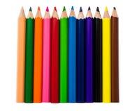 Crayons de Colr Image libre de droits