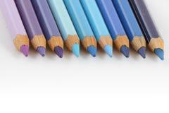 Crayons de couleur Photo stock