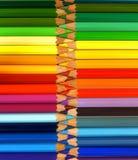 Crayons de couleur Photos libres de droits