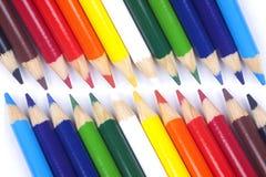 Crayons de couleur Photos stock