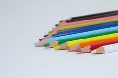 Crayons de couleur Photographie stock