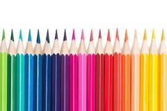 Crayons de couleur Image stock