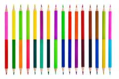 Crayons de couleur Photo libre de droits