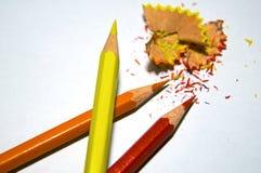 Crayons de couleurs Photographie stock