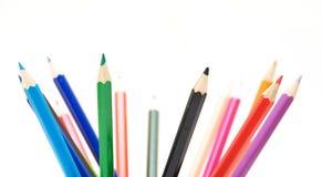 Crayons de crayon Photo stock
