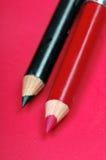 Crayons de doublure photos stock