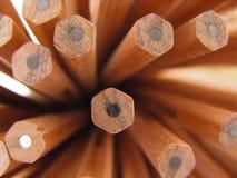 Crayons de graphite Photographie stock libre de droits