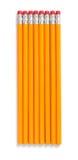 2 crayons de numéro Photos libres de droits