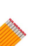 2 crayons de numéro Photographie stock libre de droits