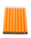 2 crayons de numéro Images libres de droits