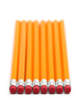 2 crayons de numéro Photo stock