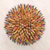 Crayons de planète Photo stock